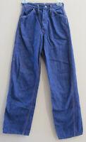 "Vtg Washington Dee Cee Sanforized Denim Made in the USA Work Jeans 23"" x 30"""