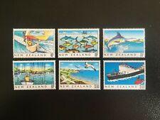 NEW ZEALAND. 1989 SET OF SIX. HERITAGE - THE SEA -:-  VERY NICE M.U.H.