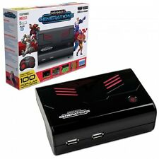 Retro-Bit Generations - Plug and Play Game Console w/100x Built-In Games HDMI