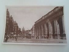 Vintage RPPC Central Station Neville Street Newcastle-on-Tyne Franked 1926  §R23