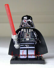Custom Lego Compatible Darth Vader CHROME Star Wars Minifigure Rise of Skywalker