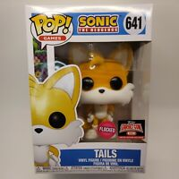 Funko Pop! Games: Sonic - TAILS #641 - FLOCKED Target Con Exclusive - In Hand!