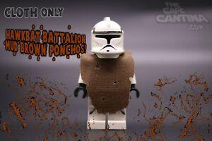 for LEGO Star Wars Custom Cape Cloth Minifigure Hawkbat Battalion Poncho Clone