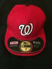 New listing MAJOR LEAGUE RED BASEBALL CAP SIZE 7 BRAND NEW