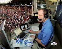 Len Kasper signed 8x10 Photo PSA/DNA Autographed White Sox