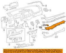 TOYOTA OEM 14-15 Highlander Instrument Panel Dash-Finish Plate 554450E020J0