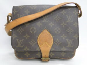 LOUIS VUITTON Shoulder Bag Cartouchiere MM M51253 Monogram France 23170199300 K