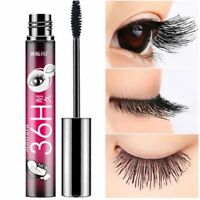 4D Silk Fiber Eyelashes Lash Mascara Waterproof Curling Extension Make-Up Tool