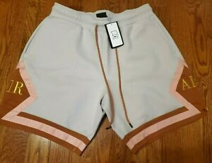 NEW NIKE AIR JORDAN REMASTERED DIAMOND LUX SHORTS (AT9956 072) SZ LARGE L CORAL