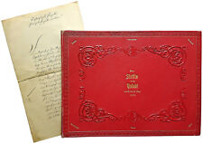 1859 Morocco Album - SMS GRILLE - PRUSSIAN ROYAL YACHT - Inauguration Suez Canal