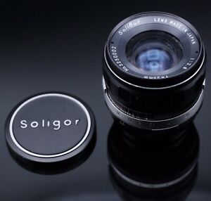 [Exe] Rare Soligor 25mm f/2.8 Wide Angle Prime Lens for T2 Mount Wth M42 Adapter