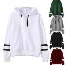 UK Womens Warm Hoodie Sweatshirt Lady Hooded Sweater Coat Jumper Pullover Top