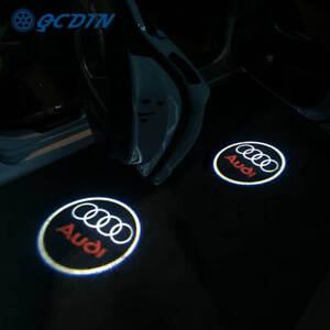 AUDI LED Logo Door Projectors for Audi A4 B6 B8 B7 A6 C5 C6 C7 A3 A5 Q3 Q5 Q7 4X