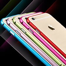 *Aluminum Ultra thin Metal Bumper Case Cover For iPhone 5 5S 6 6plus Free Film