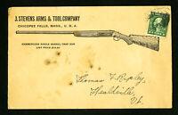 US Rare J. Stevens Arms & Tools Stamp Cover