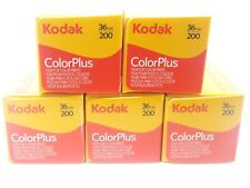 5 x KODAK COLORPLUS 200 35mm 36Exp CHEAP COLOUR PRINT FILM -1st CLASS ROYAL MAIL