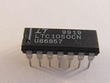 2 Stück - LTC1050CN (LT) Precision Zero Drift OP with int. Capacitors - 2pcs