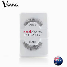 3x RED CHERRY #747S false eye lashes BRAND NEW AUS SELLER Free Post