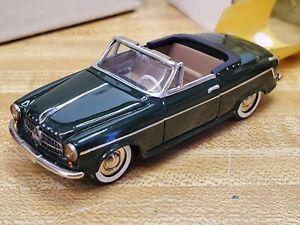 Tin Wizard 1955 Borgward Isabella Cabriolet # 154, Green, N/Brooklin, N/Western
