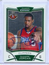 2008-09 BOWMAN CHROME #176 DeANDRE JORDAN AUTOGRAPH ROOKIE RC, CLIPPERS, 120218