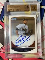 2013 Bowman Chrome Carlos Correa ROOKIE RC AUTO #CC BGS 9.5/10 GEM MINT