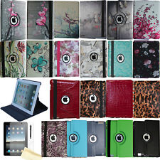 360 Rotating Case Stand Smart Cover Magnetic Wake Up Sleep For 2012 iPad