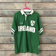 Lansdowne Ireland Rugby Football Jersey men's M Medium green #10 Irish Shamrock
