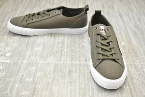 GUESS Provo Low Top Casual Shoes, Men's Size 10.5 - Green NEW