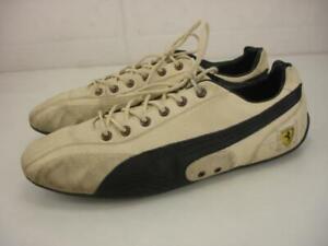 Puma Ferrari Supersqualo Lo Gt Men's 11.5 M Lifestyle Sneakers Shoes Driving Tan