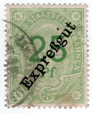 (I.B) Prussian State Railways : Prussia-Hess Parcels 25pf (Express)