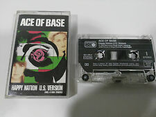 ACE OF BASE HAPPY NATION CINTA TAPE CASSETTE HOLLAND EDITION 4 NEW TRACKS