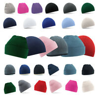 Winter & Autumn Soft Feel Wooly Unisex Hats & Beanies Child, Kid & Adult Sizes
