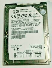 "Hitachi 40GB 54000RPM 2.5"" IDE Hard Drive HTS541640J9AT00 Tested and Warranted"