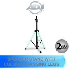 ADJ COLOR STAND LED SPEAKER STAND WITH INTERGRATED LED LIGHT WITH IR REMOTE