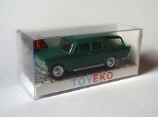 SEAT 1500 FAMILIAR VERDE OSCURO SW DARK GREEN 1/87 TOYEKO TOY EKO NEW COLOUR