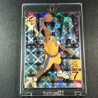 KOBE BRYANT 1999 UPPER DECK #N8 HOLOGRFX NBA 24/7 REFRACTOR LIKE INSERT LAKERS