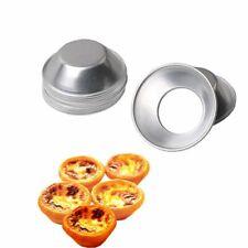 Molde de línea de aluminio 1/10PCS cupcake cookies Ping Redondo Huevo Tarta Hornear herramientas caliente