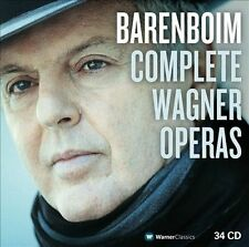 NEW Barenboim conducts the major Wagner Operas (Audio CD)