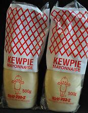 Kewpie Japanese Mayonnaise Lot 2 Salad Takoyaki Okonomiyaki 17.6 fl oz 500g