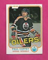 1981-82 OPC # 111 OILERS PAUL COFFEY  ROOKIE EX+ CARD (INV# D0188)