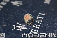 Pin Ansteckpin Anstecknadel Logo Emblem Badge Maserati Tridente Trident ohne OVP