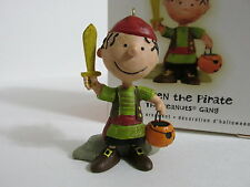 SNOOPY PEANUTS CHARLIE BROWN HALLMARK CHRISTMAS HALLOWEEN ORNAMENT PIGPEN 2009
