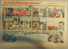 """Gillette Razor Ad: She Said """"Dan You Look Like A Million"""" ! from 1930's"""
