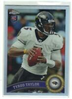 2011 Topps Chrome Refractor Tyrod Taylor Rookie RC #26