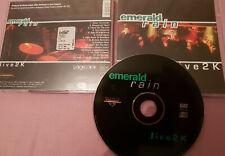 CD - EMERALD RAIN - 2000 - Live 2K