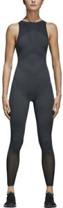 adidas Warp Knit Womens Gym Bodysuit - Black
