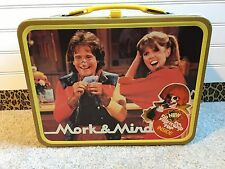 Vintage 1979 Mork And Mindy Metal Lunch Box and Thermos