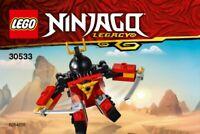 Lego ninjago Sam-X 30533 Sac en Plastique Neuf Emballé