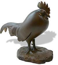 Sleeping Rooster Grand Sculpture Statue Francois Pompon France Bonded Bronze