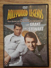Hollywood Legends Cary Grant James Stewart DVD Video 2001 Documentary